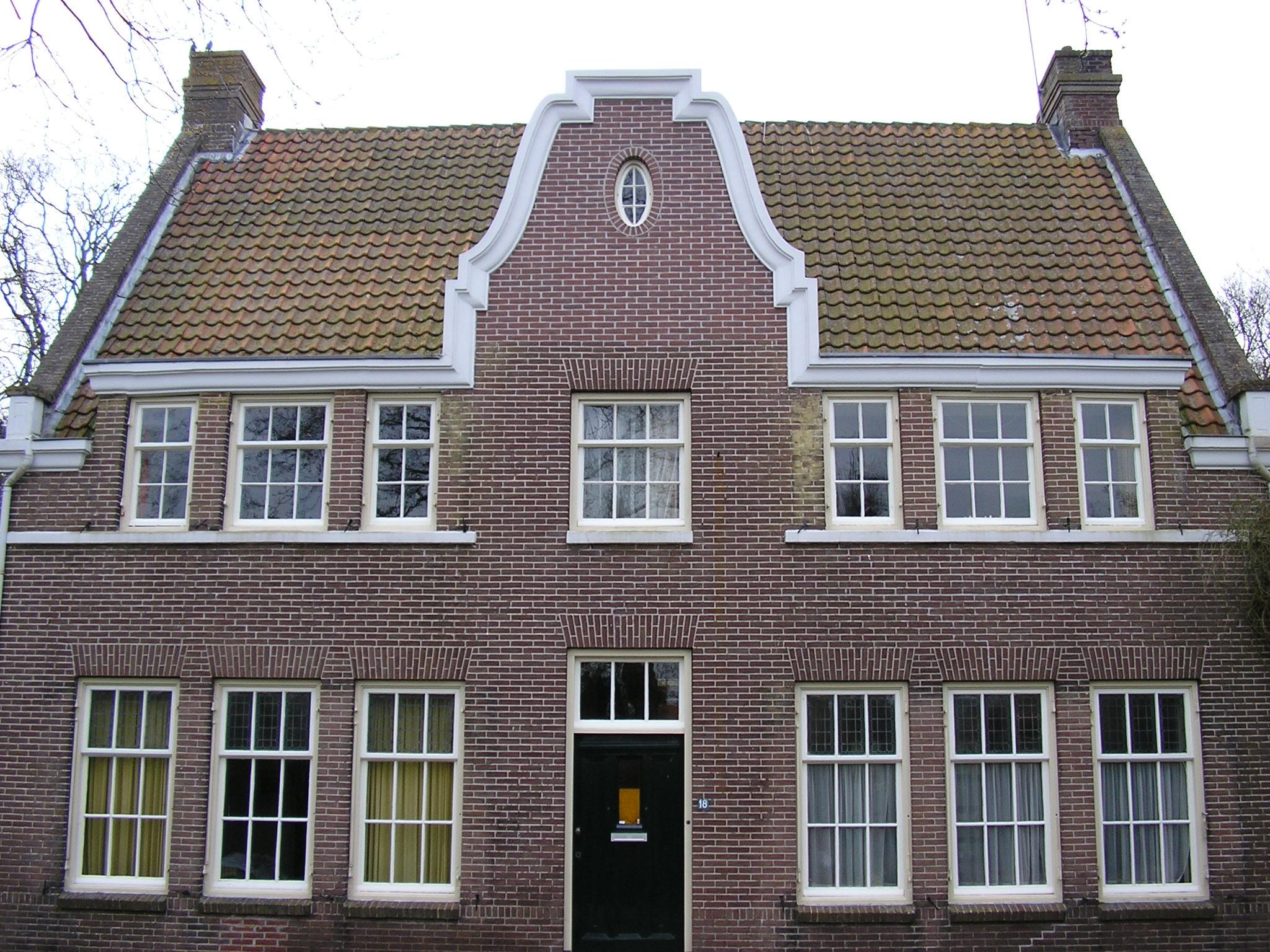 Oude huis gevel maison design obas
